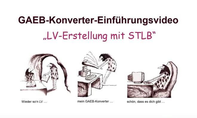 GAEB Tools - Das umfassende Softwarepaket STLB / DBD
